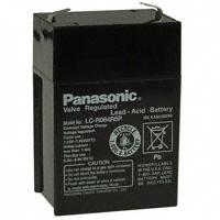 Panasonic - BSG - LC-R064R5P - BATTERY LEAD ACID 6V 4.5AH