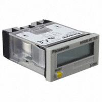 Panasonic Industrial Automation Sales - LH2H-FE-DHK-DL - COUNTER LCD 7 CHAR PANEL MOUNT