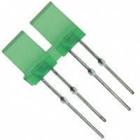 Panasonic Electronic Components - LN02302P - LED GREEN 2-ELEMENT ARRAY