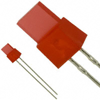 Panasonic Electronic Components - LN224RPXB - LED RED DIFF 5X1MM RECT T/H