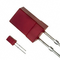 Panasonic Electronic Components - LN250RP - LED RED DIFF 5MM SQUARE T/H