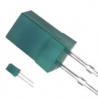 Panasonic Electronic Components - LN350GP - LED GREEN DIFF 5MM SQUARE T/H