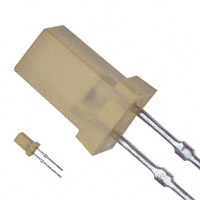Panasonic Electronic Components - LN452YP - LED AMBER DIFF 4MM SQUARE T/H