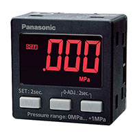 Panasonic Industrial Automation Sales - DP-002 - SENSOR DIGITAL PRESSURE NPN HIGH