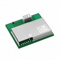 Panasonic Electronic Components - ENW-89823A3KF - RF TXRX MOD BLUETOOTH CHIP ANT