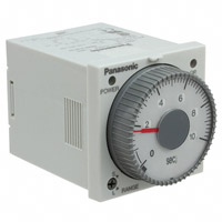 Panasonic Industrial Automation Sales - PM4HA-H-DC12V - ANALOG TIMER - PM4HA