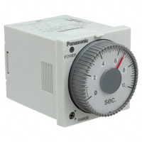 Panasonic Industrial Automation Sales - PM4HF8-S-AC120V - ANALOG TIMER - PM4HF