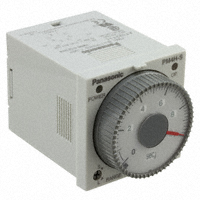 Panasonic Industrial Automation Sales - PM4HS-H-DC12VW - ANALOG TIMER - PM4HS MULTI-RANGE
