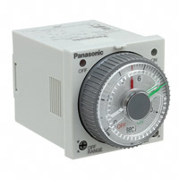 Panasonic Industrial Automation Sales - PM4HW-H-DC12VW - ANALOG TIMER - PM4HW