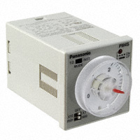 Panasonic Industrial Automation Sales - PM4S-A2C30M-AC120V - ANALOG TIMER - PM4S