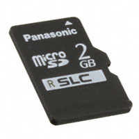 Panasonic Electronic Components - RP-SMSC02DA1 - MEM CARD MICROSD 2GB CLASS 6 SLC