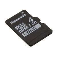 Panasonic Electronic Components - RP-SMSC04DA1 - MEM CARD MICROSDHC 4GB UHS SLC