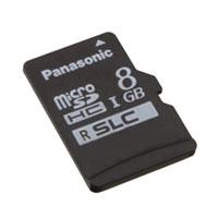 Panasonic Electronic Components - RP-SMSC08DA1 - MEM CARD MICROSDHC 8GB UHS SLC