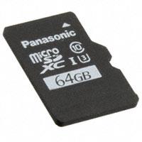 Panasonic Electronic Components - RP-SMTE64DA1 - MEM CARD MICROSDXC 64GB UHS MLC