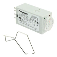Panasonic Industrial Automation Sales - S1DX-A4C10S-AC120V - RELAY TIMER 4PDT 5A 120V