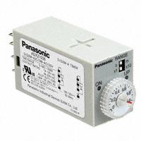 Panasonic Industrial Automation Sales - S1DXM-A2C10M-AC120V - RELAY TIMER ANALOG DPDT 0-10MIN
