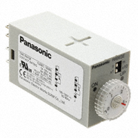 Panasonic Industrial Automation Sales - S1DXM-A2C30M-AC120V - RELAY TIMER ANALOG DPDT 0-30MIN