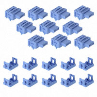 Panasonic Industrial Automation Sales - SL-JK - END SKT HOOK-UP CONN BLUE 0.5MM