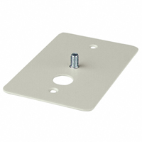 Panavise - 862W - CCTV J-BOX PLATE BASE - WHITE