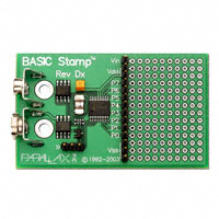 Parallax Inc. - 27100 - BASIC STAMP REV DX MODULE