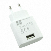 Phihong USA - PSM03E-050Q-3W-R - AC/DC WALL MOUNT ADAPTER 5V 3W