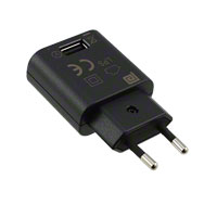 Phihong USA - PSM03E-050Q - AC/DC WALL MOUNT ADAPTER 5V 3W