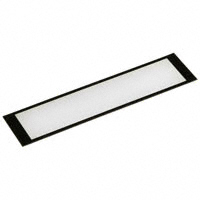 "PRD Plastics - 6203050 - LENS 3.6"" W/ 3.268X.732"" WINDOW"