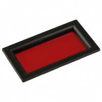 "PRD Plastics - 6301050 - BEZEL LOPRO 1.8"" W/RED LENS"
