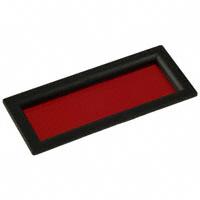 "PRD Plastics - 6302050 - BEZEL LOPRO 2.5"" W/RED LENS"