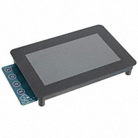 "Precision Design Associates, Inc - 90-00002-A0 - LCD TFT 480X272 4.3"" CAP T/S"