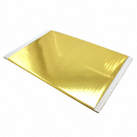 """Pulsar - 50-1206 - FOIL METALLIC GOLD TRF 8""""X15'"""