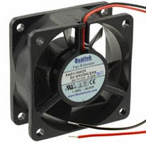 Qualtek - FAD1-06025CBLW12 - FAN AXIAL 60X25MM 12VDC WIRE