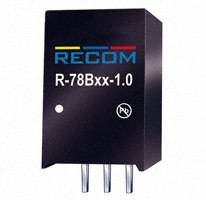 Recom Power - R-78B12-1.0 - CONV DC/DC 1A 12V OUT SIP VERT
