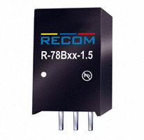 Recom Power - R-78B5.0-1.5 - CONV DC/DC 1.5A 5V OUT SIP VERT