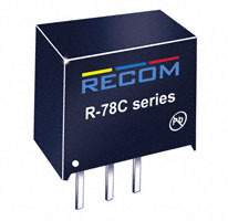 Recom Power - R-78C15-1.0 - CONV DC/DC 1A 15V OUT SIP VERT