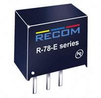 Recom Power - R-78E5.0-0.5 - CONV DC/DC 5V 500MA OUT THRU