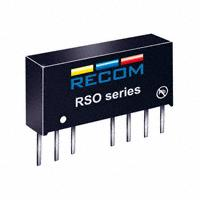 Recom Power - RSO-2405S - CONV DC/DC 1W SNGL 5V OUT SIP8