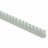 Essentra Components - MGS-1-01 - GROMMET EDGE SLOT NYLON NATURAL