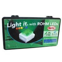 Rohm Semiconductor - 511-8007-KIT - KIT LED 0402 MULTI COLOR