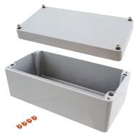 """Rose Enclosures - 011020080 - BOX ALUM GRAY 7.87""""L X 3.94""""W"""
