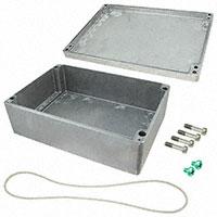 """Rose Enclosures - 012333118 - BOX ALUM UNPTD 12.99""""L X 9.06""""W"""