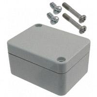"""Bopla Enclosures - 02206000 - BOX PLASTIC GRAY 2.56""""L X 1.97""""W"""