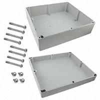 "Rose Enclosures - 094036150 - BOX ABS GRAY 15.75""L X 14.17""W"
