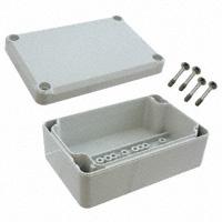 """Bopla Enclosures - EM 208 - BOX PLASTIC GRAY 3.86""""L X 2.52""""W"""