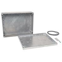 """Rose Enclosures - 013140118 - BOX ALUM UNPTD 15.91""""L X 12.32""""W"""