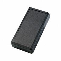 """Bopla Enclosures - BOS 752 - BOX ABS BLACK 6.18""""L X 3.31""""W"""