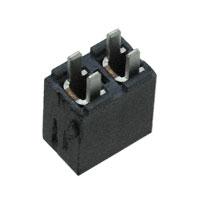 """Samtec Inc. - FHP-02-01-T-S - CONN RCPT .156"""" 2POS TIN T/H"""