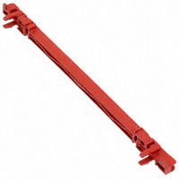Schroff - 64560001 - CARD GUIDE 160MM (RED)