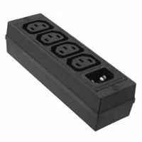 Schurter Inc. - 4747.0000 - POWER STRIP MINI 4OUTLET/1 INLET