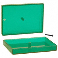 "Serpac - C10,TRGR - BOX ABS TRN GREEN 2.3""L X 3.25""W"